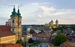 Eger royalty free stock image