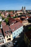 Eger (Agria). View of the Old Town in Eger, Hungary Royalty Free Stock Photography