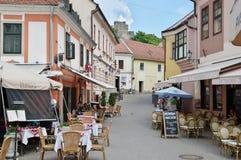 Eger, alte Stadt Stockbilder