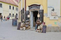 Eger, alte Stadt Lizenzfreie Stockbilder