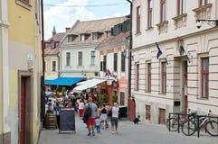 Eger, alte Stadt Lizenzfreies Stockfoto