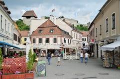 Eger, alte Stadt Stockfotos