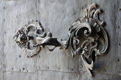Eger, Architekturdetail Stockbild