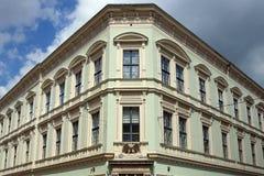 Eger constructivo viejo Hungría Imagen de archivo