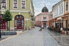 Eger gammal stad arkivfoton