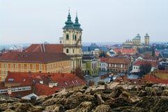 Eger, Hungría Imagen de archivo
