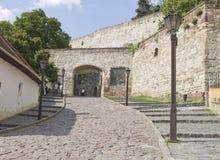 Eger jest drugi co do wielkości miastem w Północnym Węgry. Zdjęcia Royalty Free