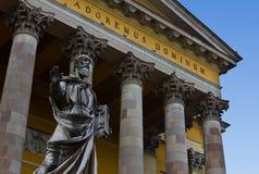 eger katedralny wejście Zdjęcie Stock