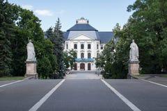 Eger Lyceum, Węgry Zdjęcie Stock