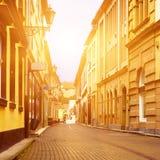 Eger miasta ulica Obraz Royalty Free