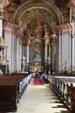 Eger Minorite kyrka royaltyfri foto