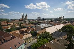 Eger panorama Stock Image