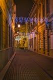 Eger ulicy Zdjęcie Royalty Free