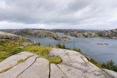Egersund Fyr w Norwegia Obraz Stock