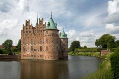 Egeskov castle Royalty Free Stock Image