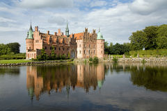 Egeskov castle Royalty Free Stock Photo