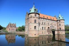 Egeskov Castle, Denmark Royalty Free Stock Photo