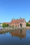 Egeskov castle, Denmark Stock Photo