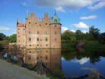 Egeskov Castle, Denmark Royalty Free Stock Photography