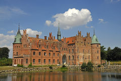 Egeskov castle, Denmark Stock Photography