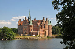 Egeskov castle, Denmark Royalty Free Stock Photography