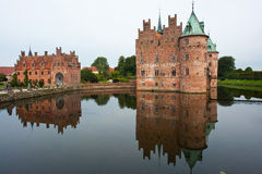 Egeskov castle Funen Denmark Royalty Free Stock Photography