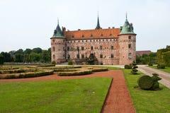 Egeskov castle Funen Denmark Royalty Free Stock Images