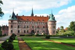 Egeskov Schloss lizenzfreie stockbilder