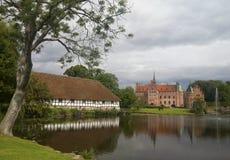 Egeskov Schloss Stockbild
