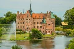 Egeskov slot in Denmark Royalty Free Stock Images