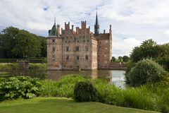 Egeskov Slot in Denmark Stock Photography