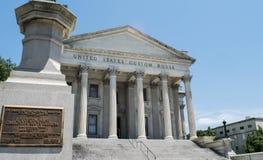 Eget hus för Förenta staterna i charlestonen, South Carolina fotografering för bildbyråer