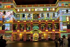 Eget hus Sydney för livlig festival Arkivfoton