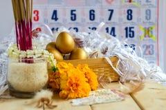 Egg волшебное верование и вера с просит лотерея стоковые изображения