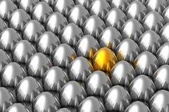 egg золотистое уникально Стоковые Фото