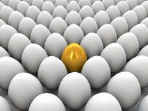 egg золотистое Стоковые Фотографии RF