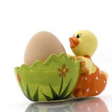 Egg. Beautiful piece to carry an egg Royalty Free Stock Photos