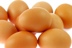 Egg. People like the food eggs Royalty Free Stock Photo