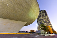 The Egg - Albany, New York Stock Images