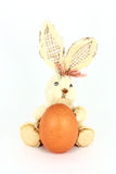 Egg And Rabbit Decoration Stock Photos