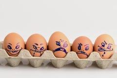 Egg art. Stock Photos