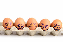 Egg art. Stock Photography