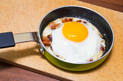 Egg with bacon Stock Images