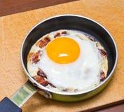 Egg with bacon Stock Photos