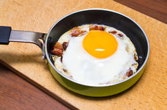 Egg with bacon Royalty Free Stock Photography