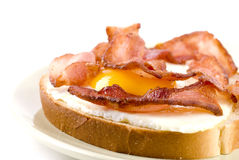 Egg And Bacon Sandwich Stock Photos