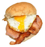 Egg And Bacon Sandwich Stock Photography