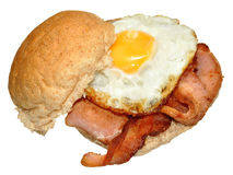 Egg And Bacon Sandwich Stock Image