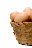 Egg Basket Royalty Free Stock Photo