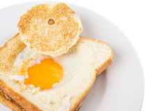 Egg In The Basket IV Royalty Free Stock Image